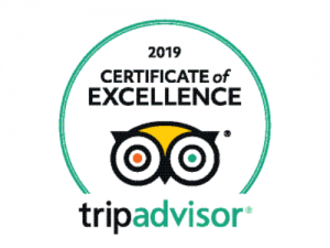 Old White Lion Hotel Certificate of Excellence 2019